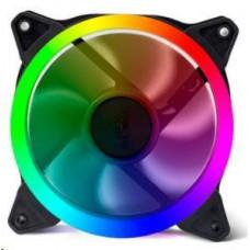 Evolveo 12RR ventilátor 120mm, RGB ring, 4pin