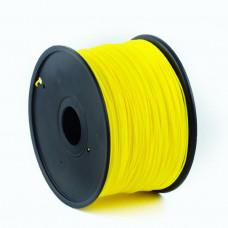 GEMBIRD Struna pro 3D tisk, PLA, 1,75mm, 1kg, 330m, žlutá
