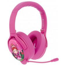 Buddyphones Cosmos+  dětská bluetooth sluchátka s odnímatelným mikrofonem, růžová