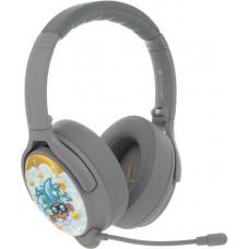 Buddyphones Cosmos+  dětská bluetooth sluchátka s odnímatelným mikrofonem, světle šedá