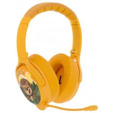 Buddyphones Cosmos+  dětská bluetooth sluchátka s odnímatelným mikrofonem, žlutá