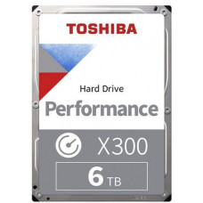 TOSHIBA X300 hdd 6TB SATA3-6Gbps 7200rpm 256MB (HDWR160EZSTA)