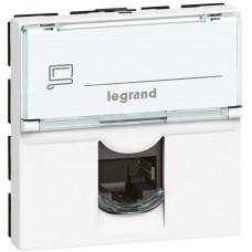 Legrand Legrad MOSN 1XRJ45 FTP C5E 2M BÍlý