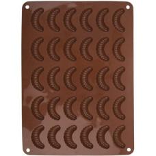 forma na rohlíčky 30ks 34,5x24,5x1,2cm silikon HN