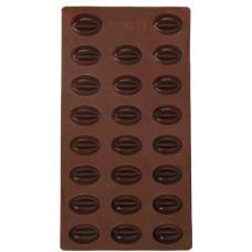forma na kávová zrna 23ks 16,5x32,5x2cm silikon HN