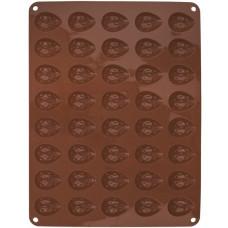 forma na ořechy 40ks 36,5x26x1,2cm  silikon HN