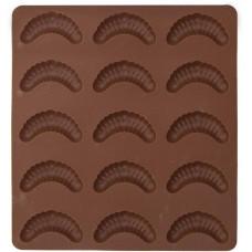 forma na rohlíčky 15ks 24,5x21x1,2cm silikon HN