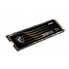 MSI SSD SPATIUM M480, 2TB, PCIe 4.0 NVMe M.2