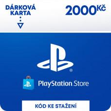 SONY ESD ESD CZ - PLAYSTATION STORE - DÁRKOVA KARTA 2000KČ