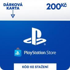 SONY ESD ESD CZ - PLAYSTATION STORE - DÁRKOVA KARTA 200KČ