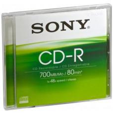 SONY Média SONY CD-R  CDQ80SJ, 48x, bal. 1ks