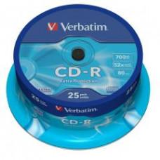 VERBATIM CD-R(25-Pack)Spindl/52x/700MB