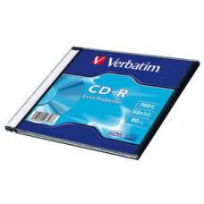 VERBATIM CD-R 700MB, 52 Extra Prot. Slim Box
