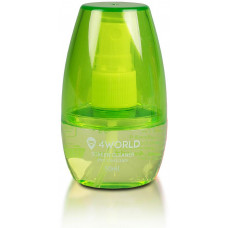 4WORLD Čistící Gel 50ml + hadřík GREEN