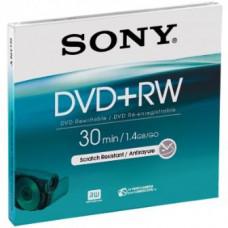 SONY Média DVD+RW DPW-30A SONY pro DVD kamery, 8cm