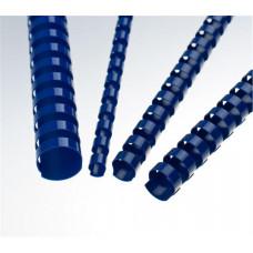FELLOWES Plastové hřbety 6 mm, modré
