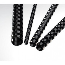 FELLOWES Plastové hřbety 14 mm, černé