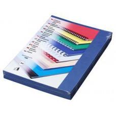 FELLOWES Kartonové desky Delta A4, 250g, modrá královská