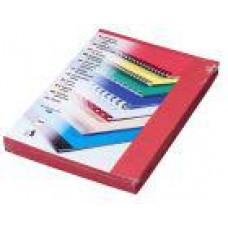 FELLOWES Kartonové desky Delta A4, 250g, červená