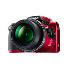 NIKON Coolpix B500 červený,16M,40xOZ,Full HD Video