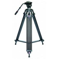 BRAUN PHOTOTECHNIK Braun PVT-185 profi videostativ (89-185cm, 4500g, fluid hlava s dlouhou