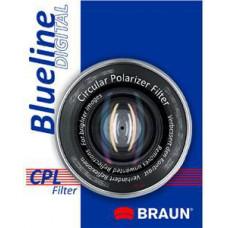 BRAUN PHOTOTECHNIK BRAUN C-PL polarizační filtr BlueLine - 77 mm