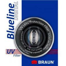 BRAUN PHOTOTECHNIK Braun UV BlueLine ochranný filtr 62 mm
