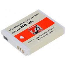 T6 POWER Baterie T6 power Canon NB-6L, NB-6LH, 700mAh, šedá