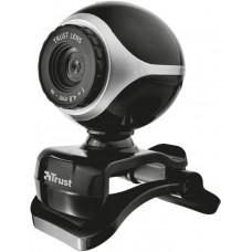 TRUST webkamera TRUST Exis Webcam - Black/Silver