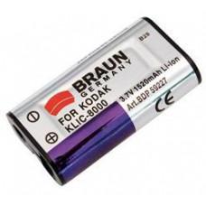 BRAUN PHOTOTECHNIK Braun akumulátor KODAK Klic 8000, Ricoh DB-50, 1520mAh