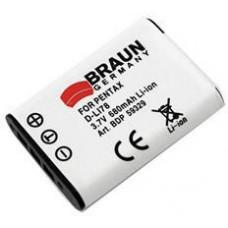 BRAUN PHOTOTECHNIK Braun akumulátor PENTAX D-Li78, Nikon EN-EL11, Olympus LI-60, Ricoh DB-80