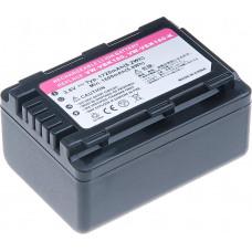 T6 POWER Baterie T6 power Panasonic VW-VBK180, VW-VBL090, 1720mAh, 6,2Wh, černá