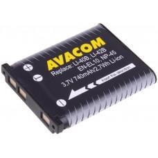 AVACOM Baterie AVACOM Olympus Li-40B,  Li-ion 3.7V 740mAh