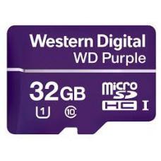 WD Purple microSDHC 32GB 100MB/s U1