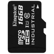 KINGSTON 16GB microSDHC Kingston UHS-I Industrial Temp + bez adapteru