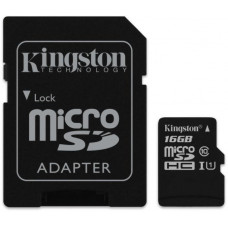 KINGSTON 16GB microSDHC Kingston UHS-I Industrial Temp + SD adapter