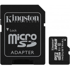 KINGSTON 32GB microSDHC Kingston UHS-I Industrial Temp + SD adapter
