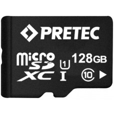 PRETEC MicroSDXC 128 GB CLASS 10 UHS-I + SD adapt