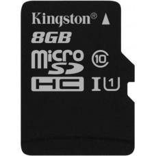 KINGSTON 8GB microSDHC Kingston UHS-I Industrial Temp + bez adapteru