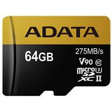 A-Data ADATA MicroSDXC karta 64GB UHS-I U3