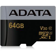 A-Data ADATA MicroSDXC karta 64GB XPG UHS-I U3 (R:95/W:90 MB/s)
