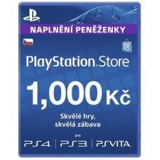 SONY PLAYSTATION PlayStation Live Cards 1000Kč Hang - pouze pro CZ PS Store