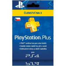 SONY PLAYSTATION PlayStation Plus Card Hang 90 Days - pouze pro CZ PS Store