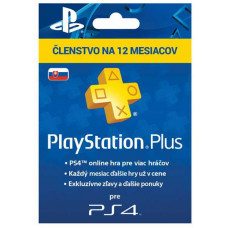 SONY PLAYSTATION PlayStation Plus Card Hang 365 Day pro SK PS Store