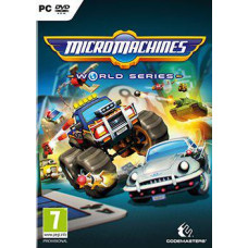 CODEMASTERS PC CD - Micro Machines World Series