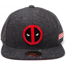 SONY PLAYSTATION Kšiltovka: Deadpool - kovový odznak, rovný kšilt