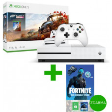 MICROSOFT XBOX ONE S 1 TB + Forza Horizon 4 + Fortnite The Cobalt Pack