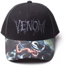 SONY PLAYSTATION Kšiltovka: Venom - zakřivený kšilt