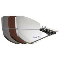 AB COM Satelitní parabola Visiosat Big Bisat 4MS biela