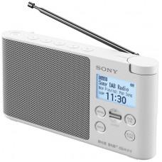 SONY radiopřijímač XDRS41DW.EU8 DAB tuner bílý